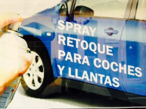 Spray retoque