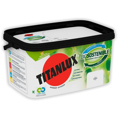 Pintura TITANLUX  Cubeta Biosostenible 4L.