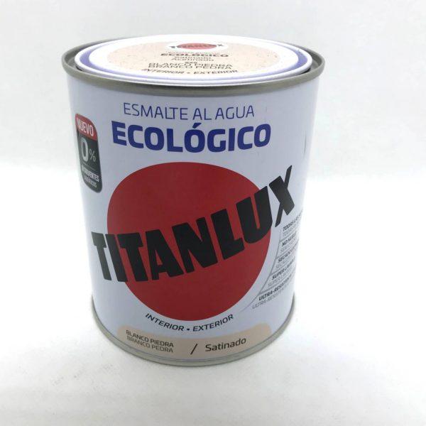 Esmalte al Agua ECOLOGICO 0% disolventes TITANLUX