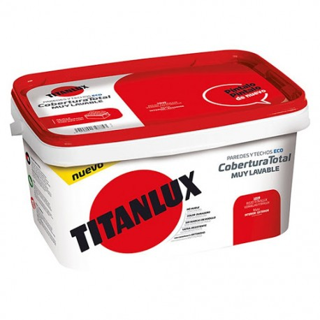 Pintura TITANLUX Cobertura Total -CUBETA- 4 Litros