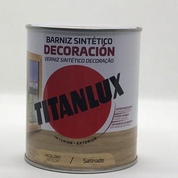 Barniz Sintetico TITAN Incoloro Satinado