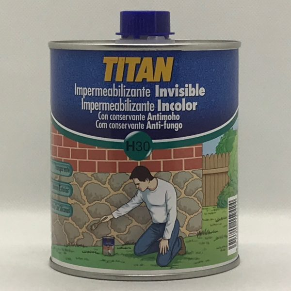 Impermeabilizante Invisible H30 TITAN 750 ml.