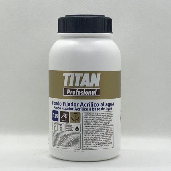 Fondo Fijador Acrilico al Agua A19 TITAN