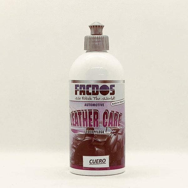 Limpiador Cuero Auto FACDOS 500 ml.