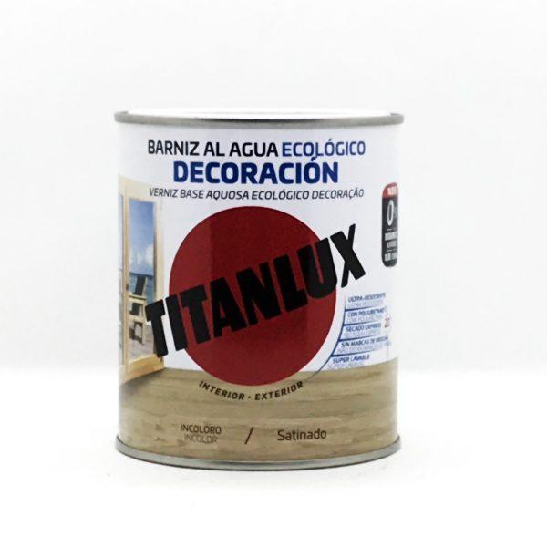 Barniz al Agua Ecológico TITANLUX Satinado