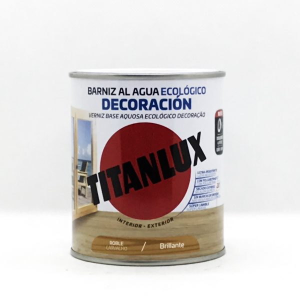 Barniz al Agua Ecológico TITANLUX Brillante