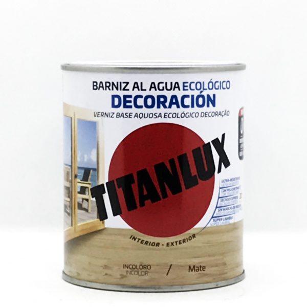Barniz al Agua Ecologico TITANLUX Mate