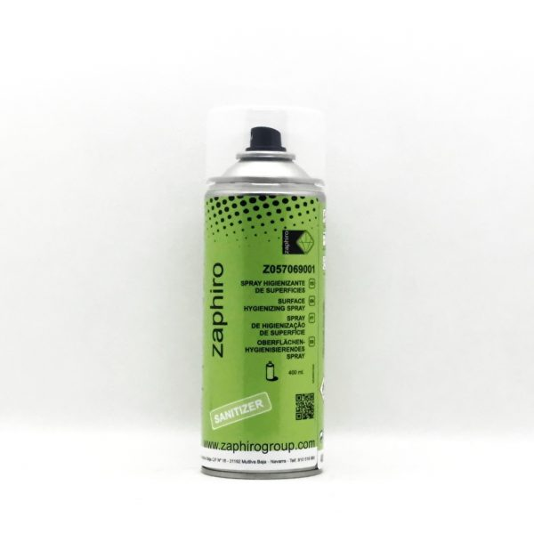 Spray Higienizante Superficies Zaphiro 400 ml.