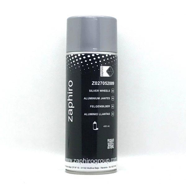 Spray Pintura Aluminio Llantas Zaphiro 400 ml.