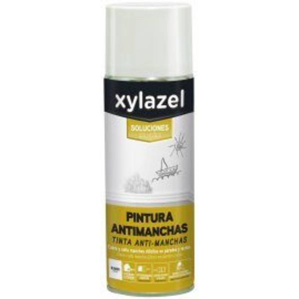 Spray Pintura Antimanchas XYLAZEL Blanco 500 ml.
