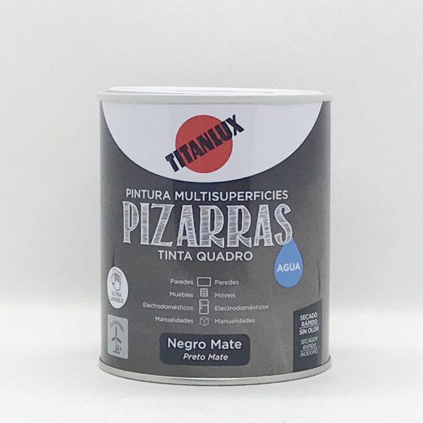 Pintura Multisuperficie Pizarra al Agua TITANLUX 750 ml.