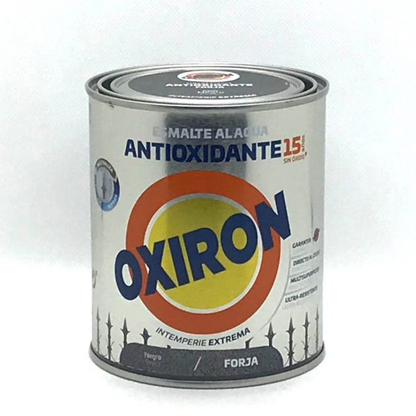 Esmalte antioxidante Efecto Forja Ecologico OXIRON al agua
