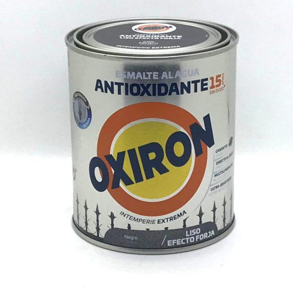 Esmalte antiox. OXIRON Efecto Forja Liso al agua 750 ml.