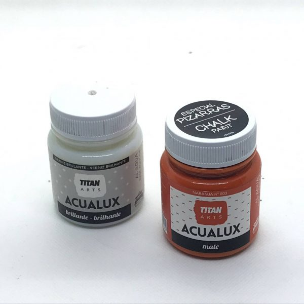 Acualux Mate Especial Pizarras 100 ml. chalk paint