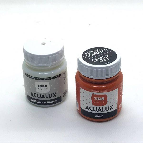 Acualux Mate Especial Pizarras 100 ml. chalk paint