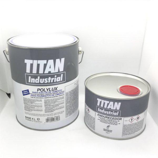 Polilux suelos 840 + Endurecedor TITAN 5kg.